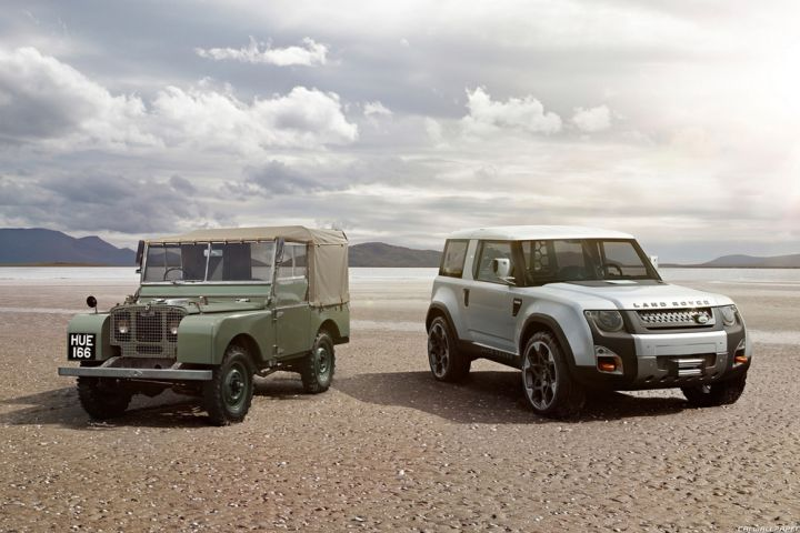 Land Rover DC100 и Land Rover Defender