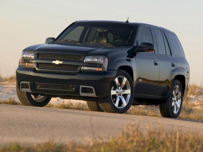 Шевроле ТрейлБлейзер (Chevrolet TrailBlazer)