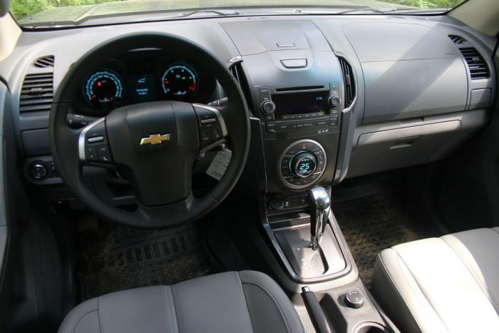 Chevrolet TrailBlazer (Шевроле ТрейлБлейзер) 2013